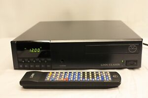 LINN CLASSIK AMP CD PLAYER TUNER SYSTEM WITH REMOTE BLACK