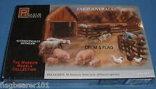 PEGASUS 7006. FARM ANIMALS. 1:48 SCALE. Cows, pigs, sheep, goats, poultry etc...