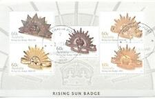 Australia-Rising Sun Badge - military Badges cto min sheet