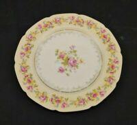 Gold Castle Hostess China Salad Plate White Vintage