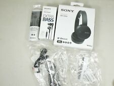 SONY WH-CH500/MDR-XB50AP and MDR-EX14AP headphones tested all work Lot Of 8