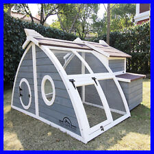 Pets Imperial® Grey Ritz Large Chicken Coop Hen Poultry Ark House Run Nest New