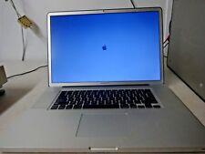 "Apple MacBook Pro 2.93 GHz Core 2 Duo 8 GB 17"" Screen A1297 250 GB Laptop"