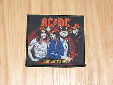 AC/DC - HIGHWAY TO HELL (NEW) SEW ON PATCH OFFICIAL BAND MERCHANDISE