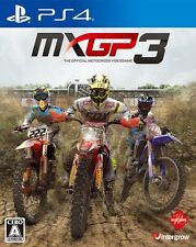 MXGP3 The Official Motocross SONY PS4 PLAYSTATION 4 JAPANESE VERSION