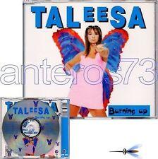 """TALEESA """"BURNIN UP"""" RARO CDM 1995 - ITALO DANCE"""