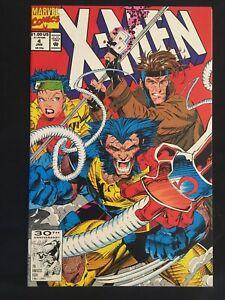 X-Men #4 VF+ 8.5 (looks NM 9.4-9.8) 1st Omega Red! Jim Lee MARVEL 1991