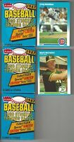 1987 Fleer Greg Maddux #68 Mark Mcgwire #76 Baseball Card + 3-87 Fleer Wax Packs