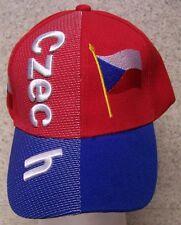 Embroidered Baseball Cap International Czech Republic NEW 1 hat size fits  all ff0b06fcd761