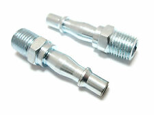 "1/4"" BSP MALE  AIR LINE Connector BAYONET COUPLER FITTING AT041 (set of 2)"