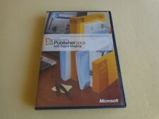 Microsoft Publisher 2003 with Digital Imaging Pro 10 Full Version