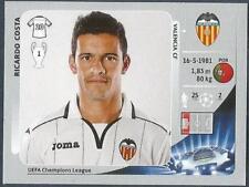 PANINI UEFA CHAMPIONS LEAGUE 2012-13- #396-VALENCIA-RICARDO COSTA
