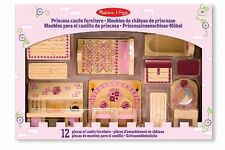 Melissa and Doug Princess Castle Furniture , New, Free Shipping