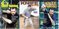 3 Dvd Set Brazilian Jungle & Desert Knife Fighting Master Antonio Flavia Testa