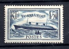 France 1935 1f 50c Normandie Ship mint MH SC#300 WS21001