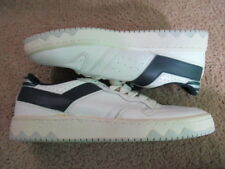 VINTAGE 80s DEADSTOCK Pony Athletic Shoes Sneakers Running LOW White Blue Size 9