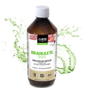 STC Drainaxyl Liquid Detox Body Removes Toxins Vegan Burn Fat Guarana 500 ml