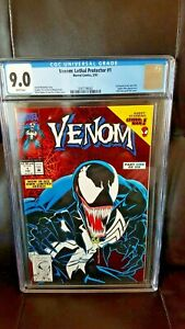 Venom: Lethal Protector #1 CGC 9.0 White Pages Marvel Spider-Man Appearance