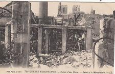CPA GUERRE 14-18 WW1 REIMS 720 LL ruines d'une usine