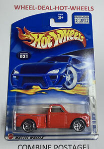 HOT WHEELS 2002 FIRST EDITIONS CUSTOM '69 CHEVY RARE COLLECTABLE NO.031 HTF MOC!