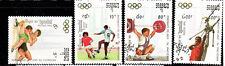 CAMBODIA #1189-1193  1992  SUMMER OLYMPICS    MINT  VF NH  O.G  CTO