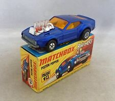 Matchbox Superfast MB10 Mustang Piston Popper