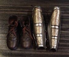 ACI Toys 1/6 Roman General Leg Armour Greaves Shoes Boots
