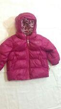 Quechua - Giubbotto - colore rosa scuro - con cappuccio - 9/12 mesi - USATO