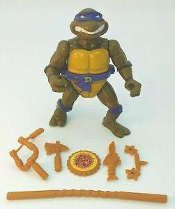 TMNT 1990 Storage Shell Don Teenage Mutant Ninja Turtle 100% Complete NICE