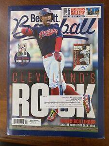Beckett Baseball Card Monthly Magazine April 2019 Francisco Lindor