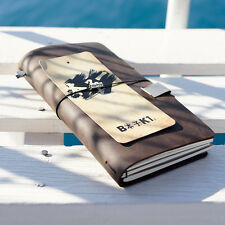 Diary vintage fashion notebook handmade cowhide notepad traveler