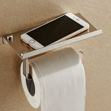 Toilet Roll Tissue Holder Stand Paper Storage Dispensers Wall Mounted Bathroom