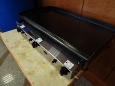 Commercial Catering Van,LPG Gas GRILL Griddle Hot Plate Barbecue 80x40 cm Piezo