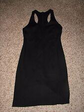 New No Tag Boston Proper Black Sleeveless Racerback Ponte Knit Dress Sz 8