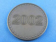 """Porsche Medaille Bronze 2002  """"Porsche Carrera GT""""  (B93)"""