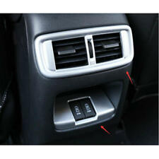 2X Rear Air Condition Vent&USB Interface Cover Trim Fit For Honda CRV 2017 2018