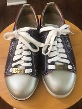 Girls Lace to ToeYouth Bowling Shoes RH//LH Red /& Blue Leather Soles FREE SHIP