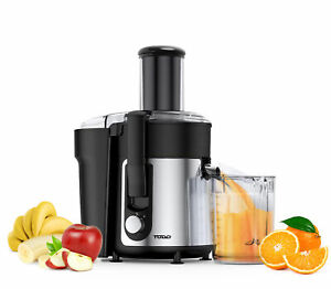 TODO 800W Stainless Steel Juicer Healthy Electric Juice Extractor 1L Jug