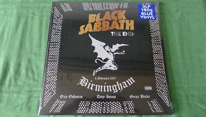 BLACK SABBATH...3 LPs...THE END...( Sonderauflage in BLUE VINYL )