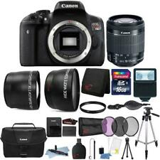 Canon EOS Rebel T6i 24.2MP DSLR Camera + 18-55mm Lens + Canon Case + Accessories
