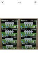 32 pack New 75 Watt Equivalent A19 LED Light Bulbs Dimmable DayLight 5000k Lot