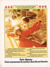 PUBLICITE ADVERTISING 024   1973   PETIT-BATEAU  sous vetements pyjamas