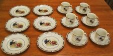 RARE 6 Place Settings Tea Set Varmland Swedish Rorstrand Porcelain Swede Sweden