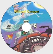 WILLIAM BILL COOPER RARE DVD Illuminati, UFOs, NWO [DVD - 4h 40m]