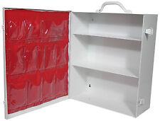 First Aid Empty Metal Cabinet 3 Shelf Emergency Survival Kit FAK-10323