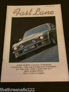 FAST LANE - SCIROCCO GTi - ASTON MARTIN VANTAGE - MAY 1984