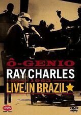 Ray Charles - O Genio: Ray Charles Live in Brazil DVD Brand New!