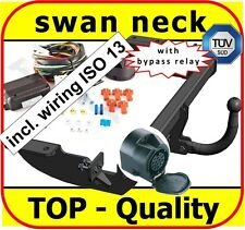 Towbar Tow Hitch Peugeot Partner L=4380mm 2008 onwards swan neck Tow Bar