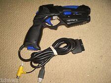 SONY PLAYSTATION 1 2 PS1 PSOne PS2 pistola de luz Control Pistola Blaster Phaser Negro
