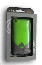 iFrogz Luxe Case + Protective Screen iPhone 3G 3GS Retail Packaging Green /Black